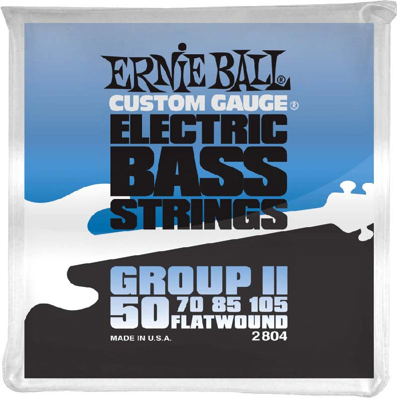 Струны для бас-гитары Ernie Ball Flat Wound Bass Group II (50-70-85-105), P02804 цены