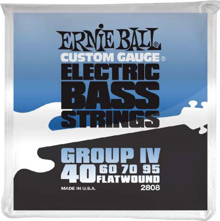 Струны для бас-гитары Ernie Ball Flat Wound Bass Group IV (40-60-70-95), P02808 цены