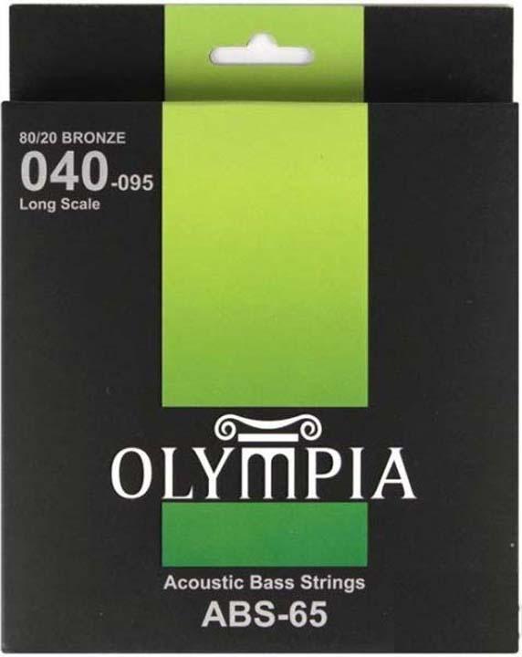 Струны для бас-гитары Olympia (0.40-0.60-0.75-0.95), ABS-65