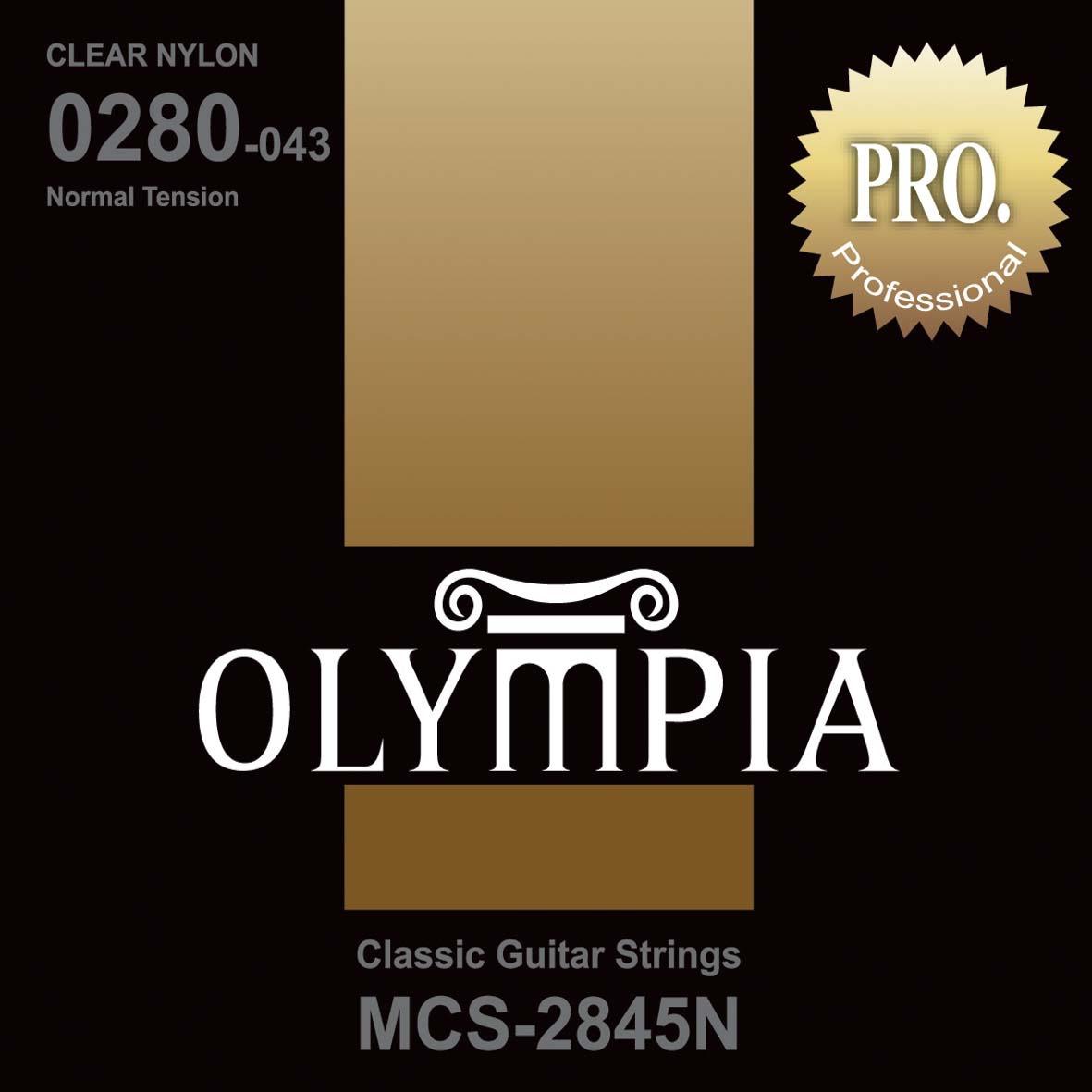 Струны для классической гитары Olympia (28-32-40-29w-35-43), MCS2845N