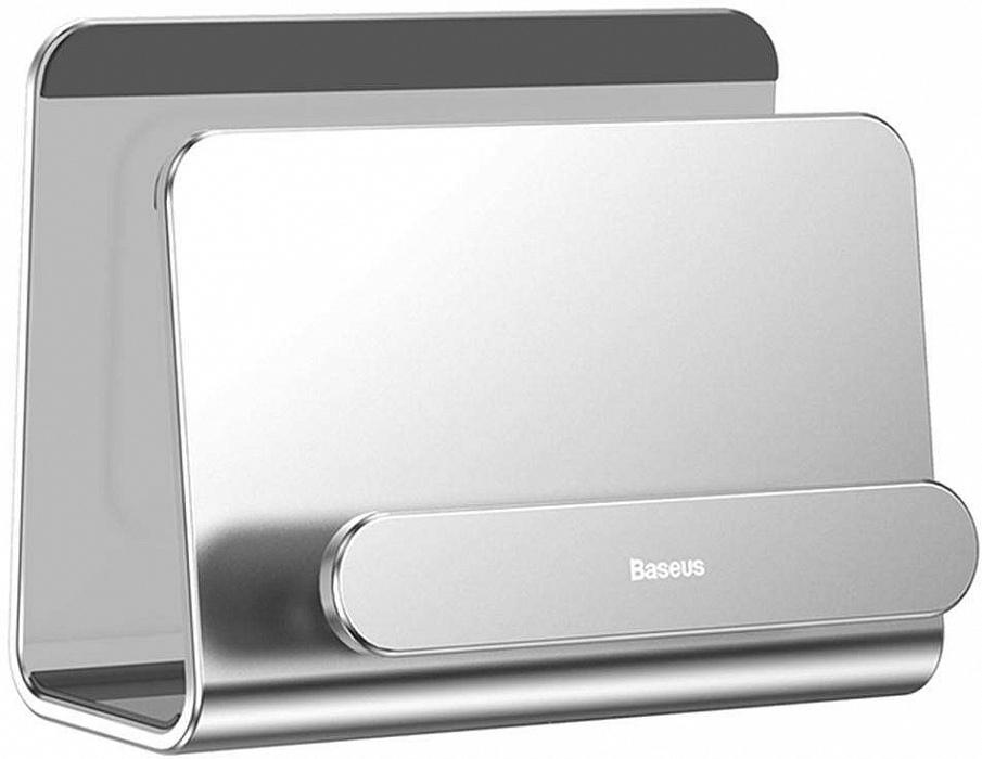 Держатель для телефона Baseus Wall-mounted Metal Holder, серебристый