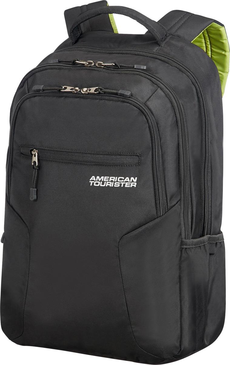 цена Рюкзак для ноутбука American Tourister, 24G*09006, черный, 26 л онлайн в 2017 году