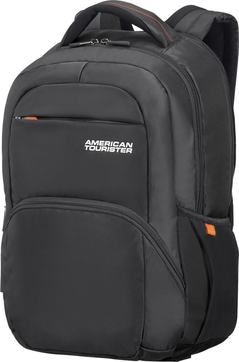 цена Рюкзак для ноутбука American Tourister, 24G*09007, черный, 26 л онлайн в 2017 году
