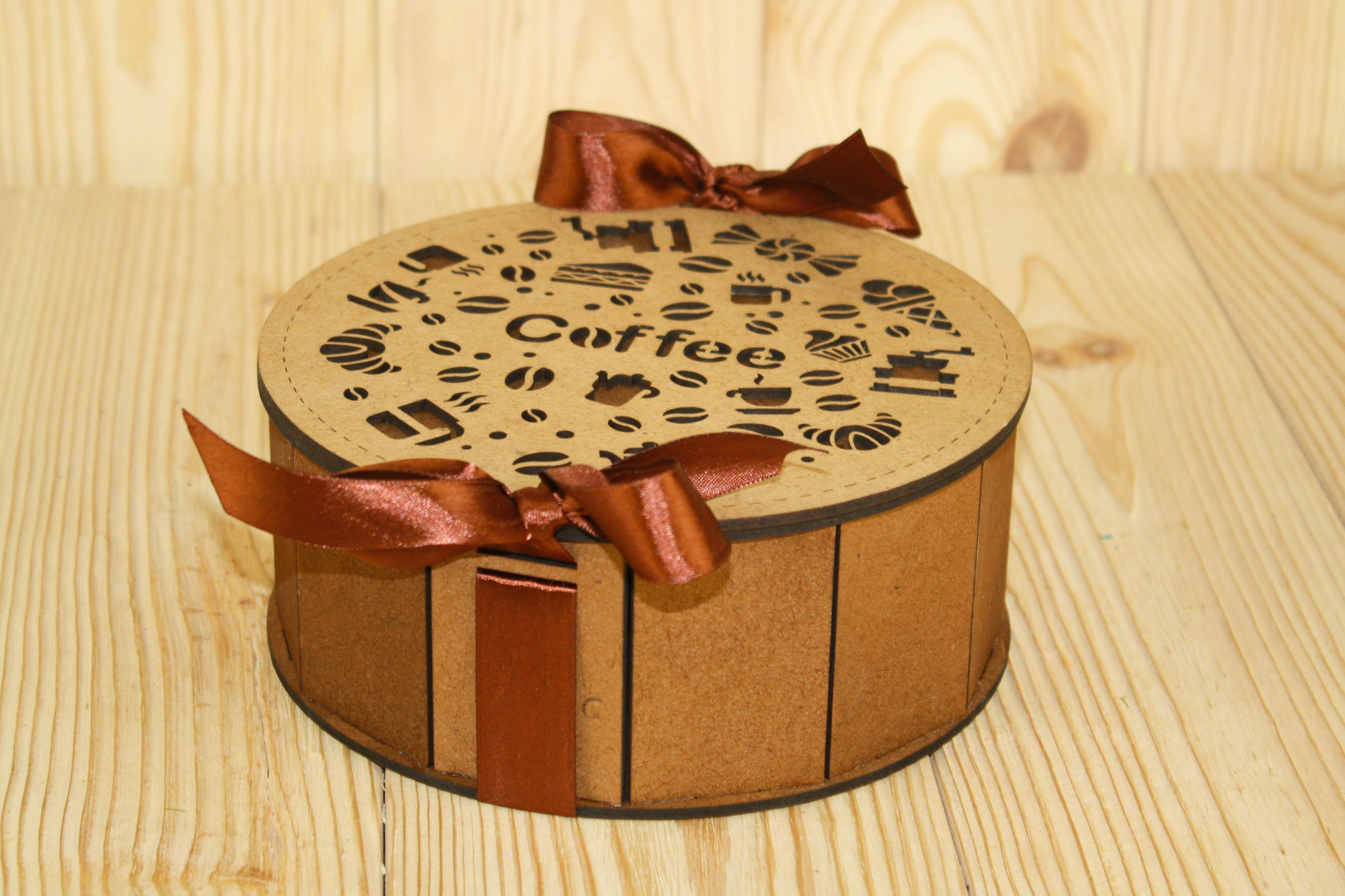 Подарочная упаковка Мастер Дизайн ПУ487003438М, коричневый подарочная упаковка мастер дизайн пу385001700 коричневый