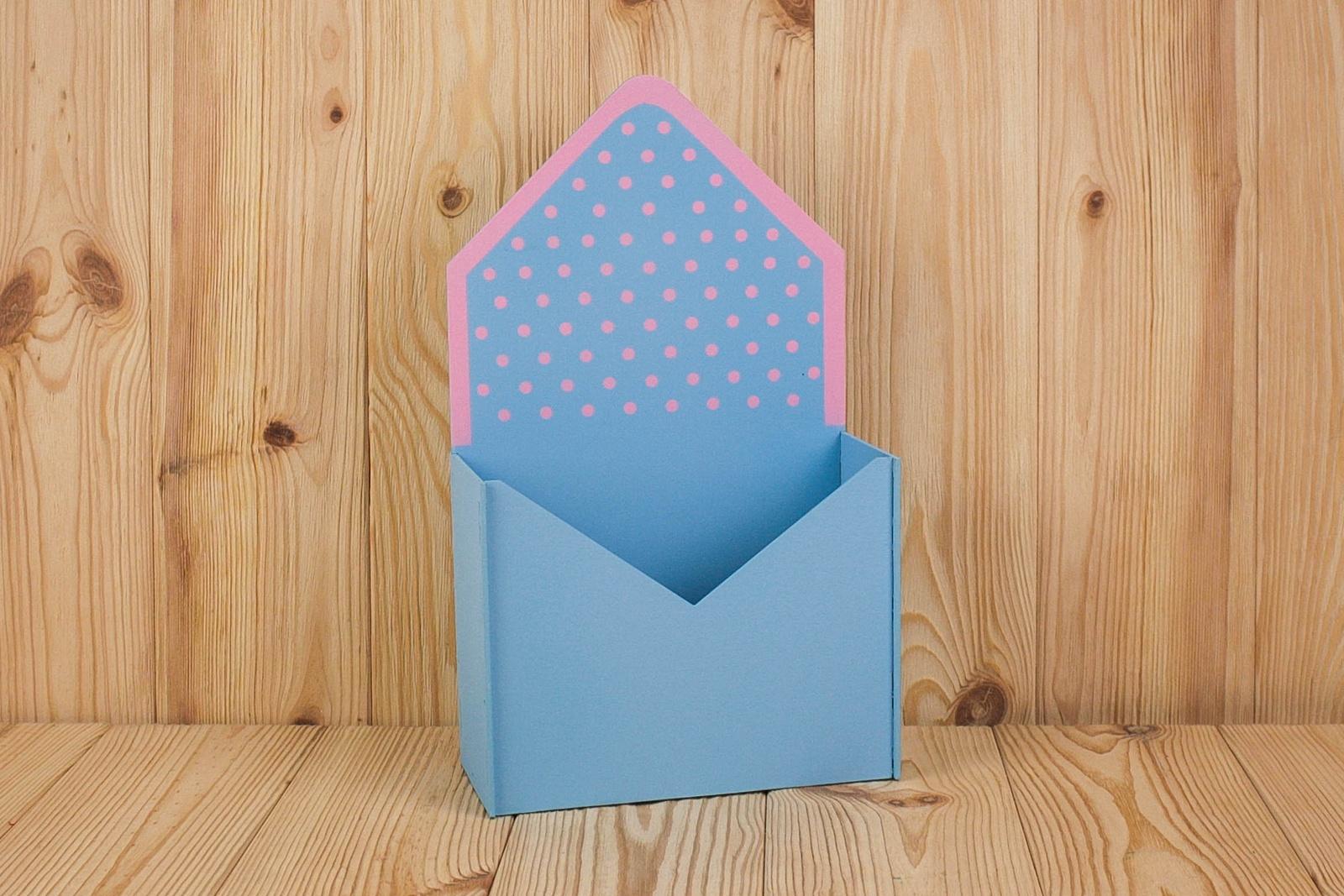 Подарочная упаковка Мастер Дизайн ПУ349020705, голубой, розовый
