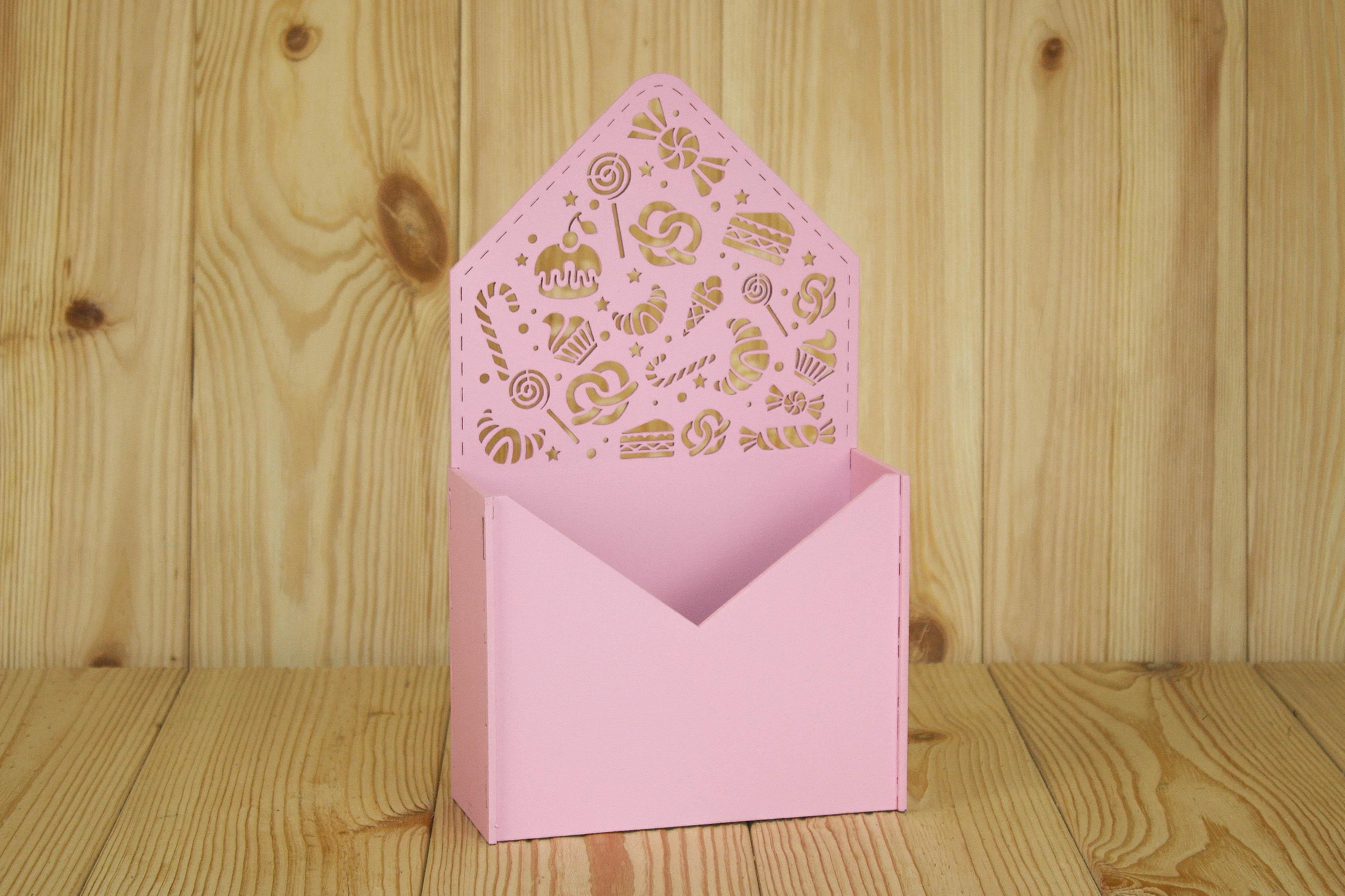 Подарочная упаковка Мастер Дизайн ПУ485020505, розовый