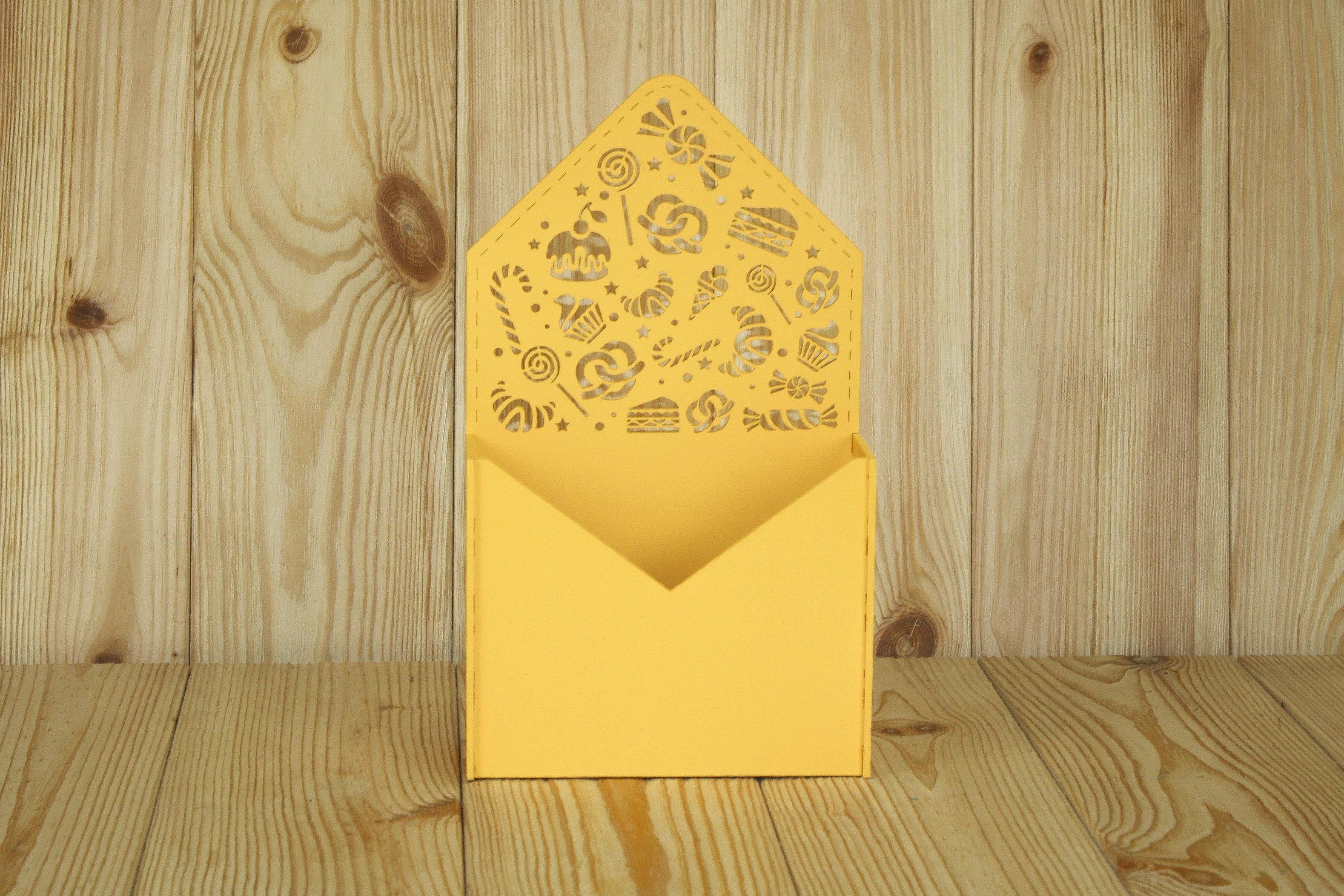 Подарочная упаковка Мастер Дизайн ПУ485021616, желтый