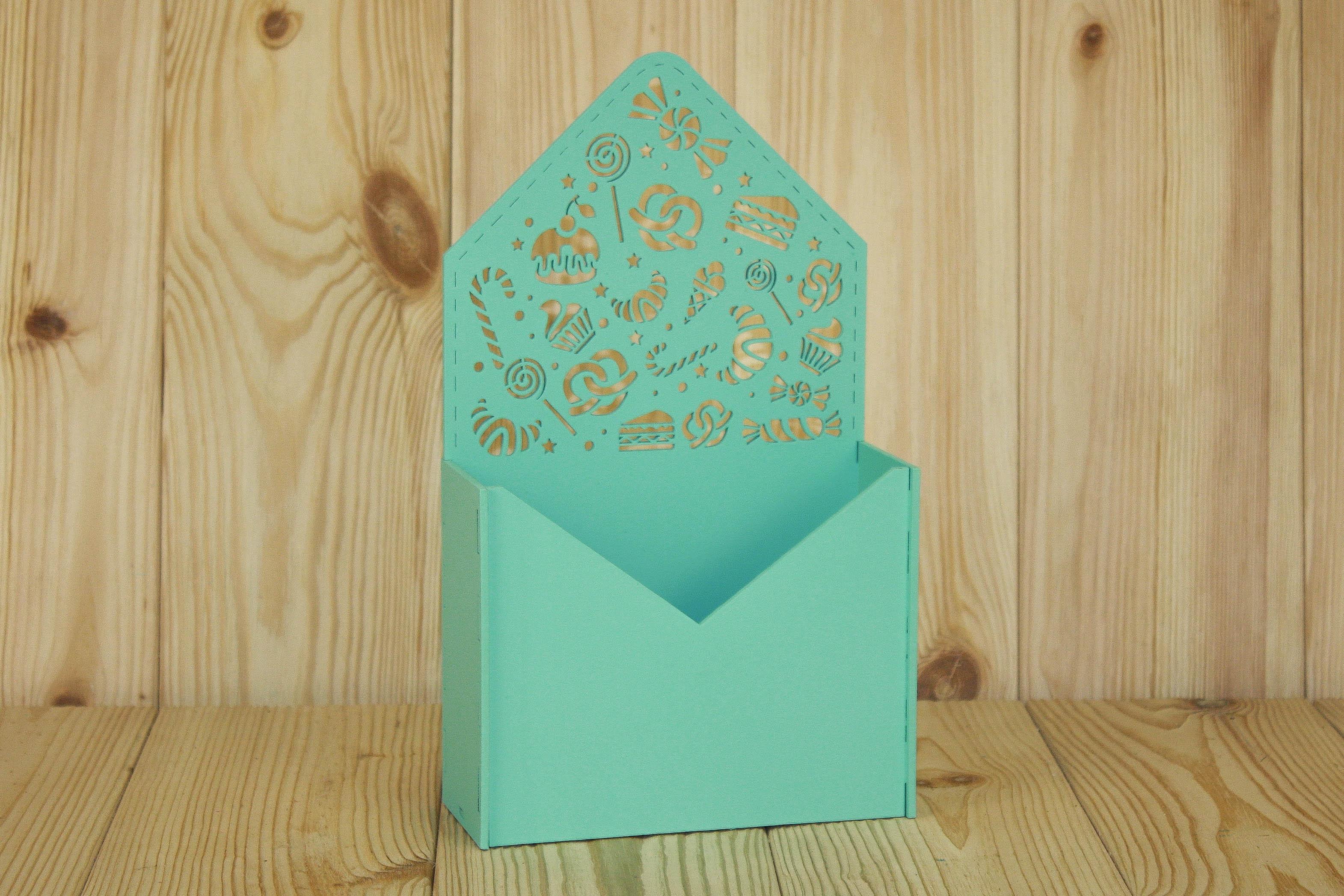 Подарочная упаковка Мастер Дизайн ПУ485022626, бирюзовый