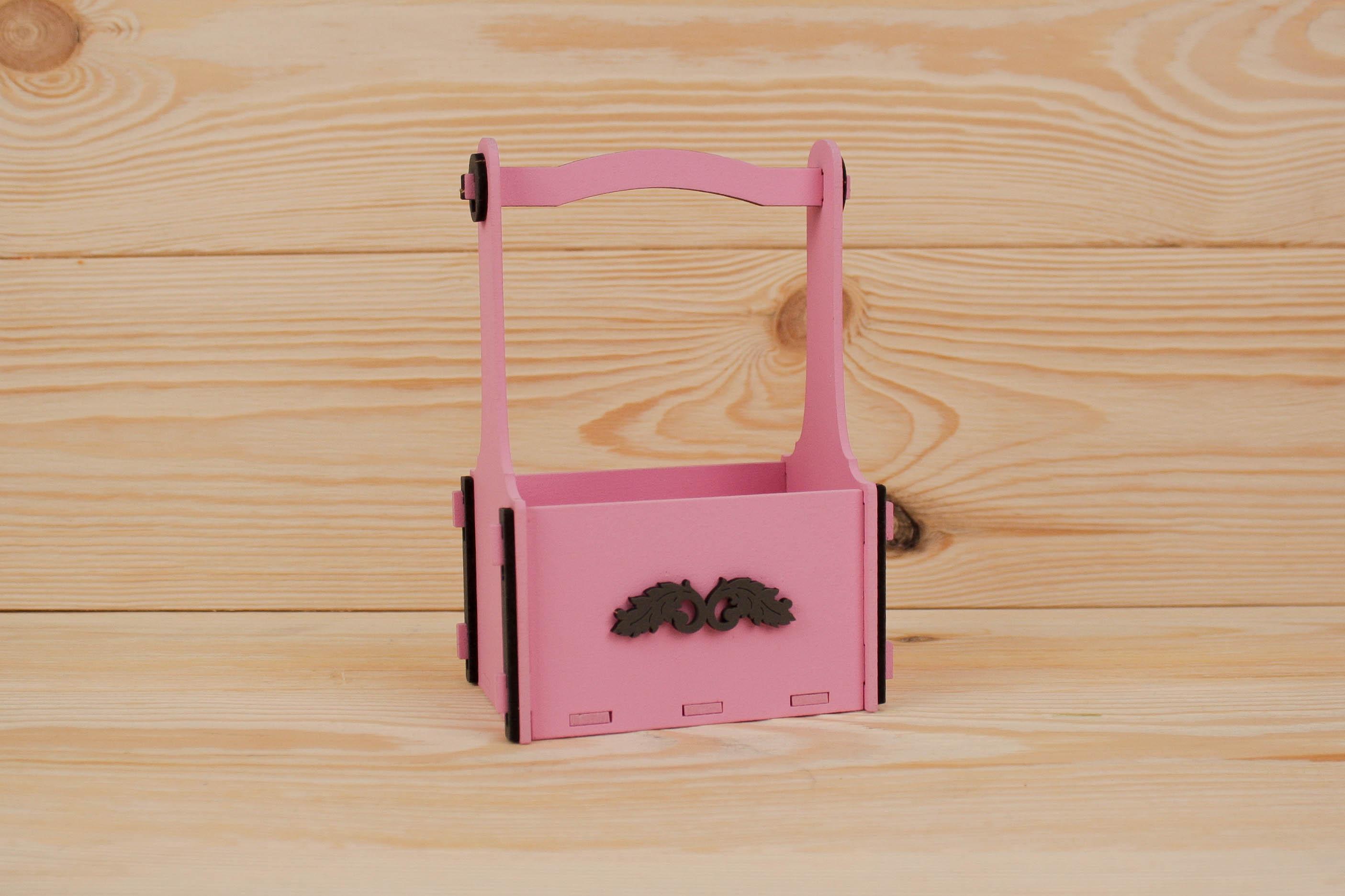 Подарочная упаковка Мастер Дизайн ПУ369020520, розовый, серый