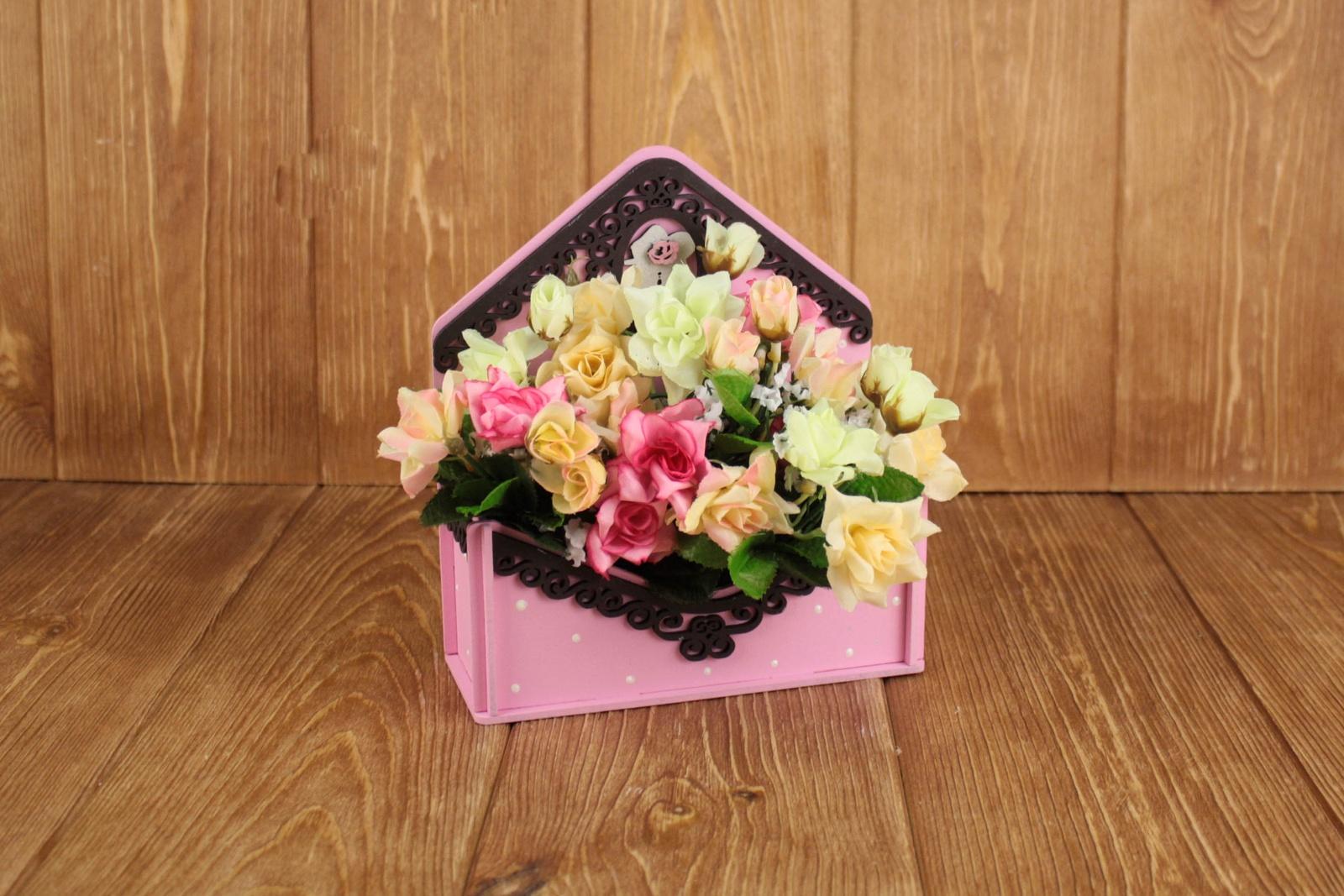 Подарочная упаковка Мастер Дизайн ПУ361020517, розовый
