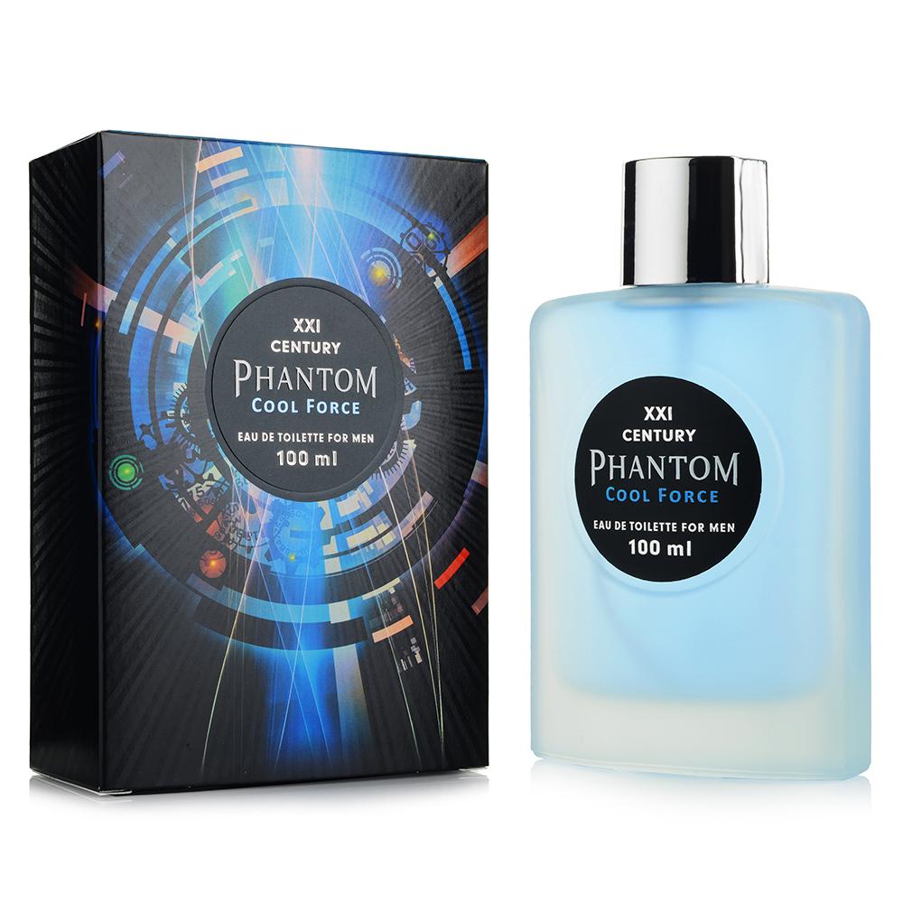 Туалетная вода XXI CENTURY Phantom Cool Force 100 мл звонок электрический с кнопкой светозар аккорд 58036
