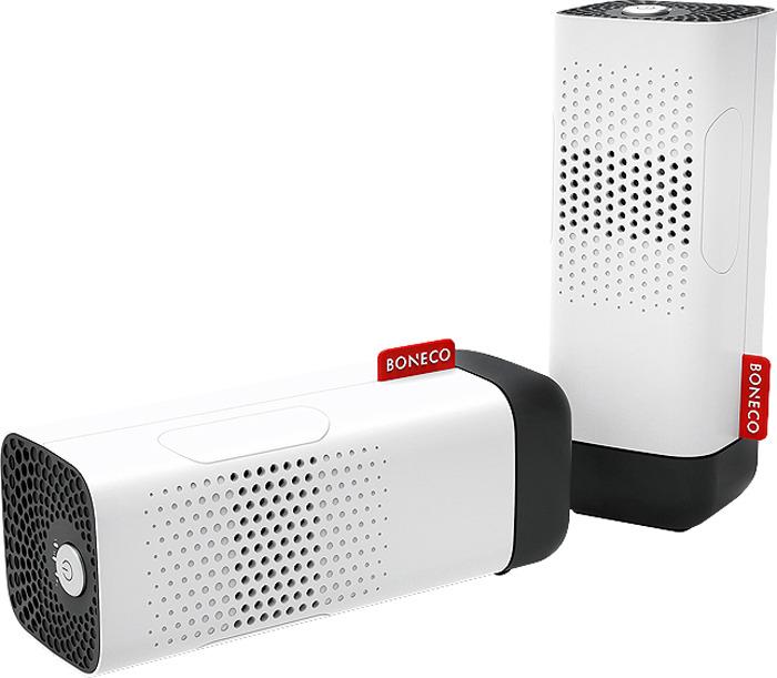 Ионизатор-аромадиффузор воздуха Boneco P50, белый, черный ионизатор воздуха для автомобиля янтарь 5т