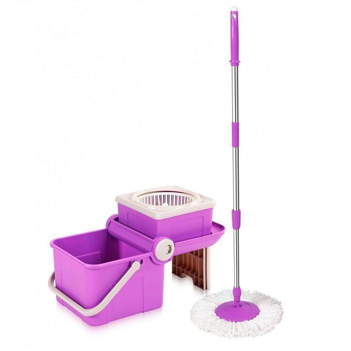 Комплект для уборки keya Spin Mop Mini Transformer швабра с ведром spin mop compact mix