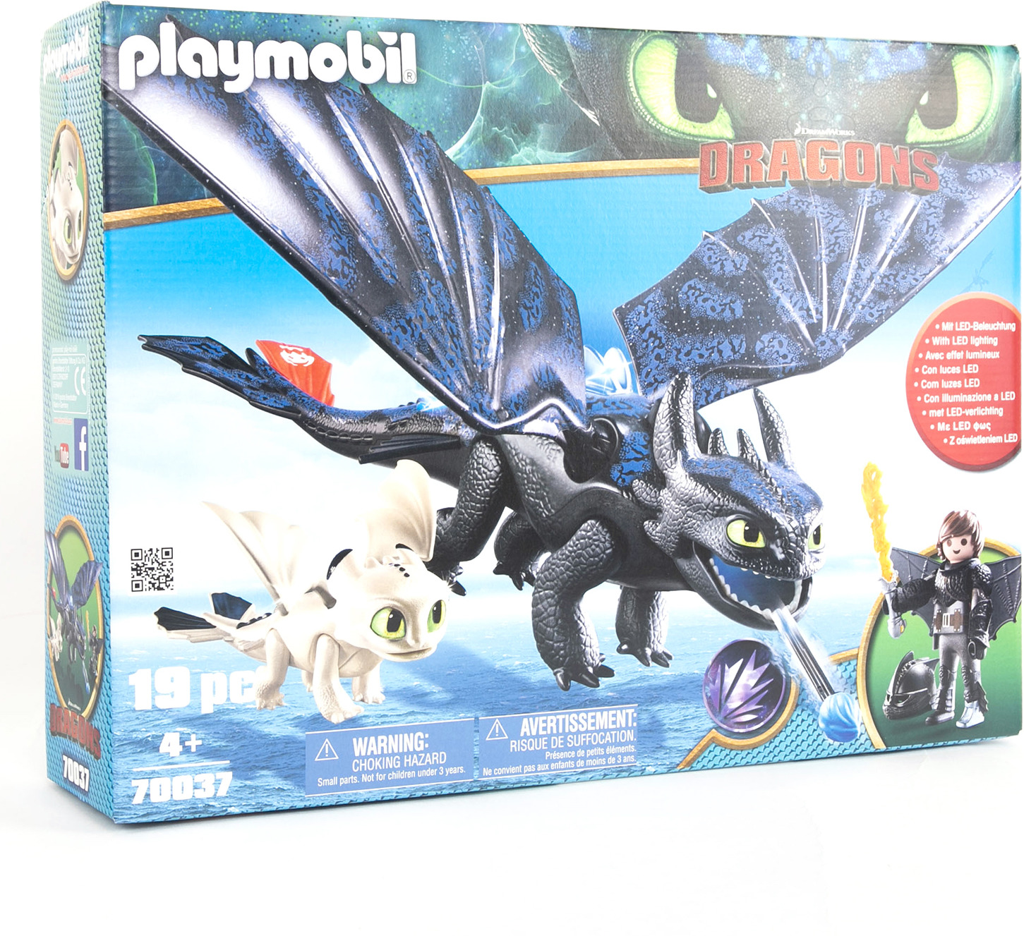 """Игровой набор Playmobil Драконы """"Иккинг и Беззубик"""""""