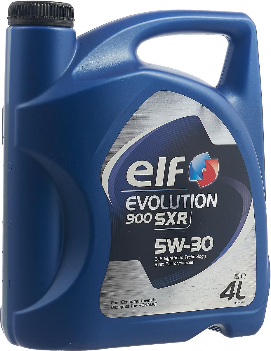 Моторное масло Elf Evolution. 900 SXR, 5W-30, 4л