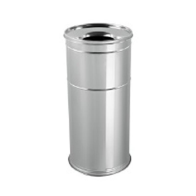 Мусорный бак447 Урна пепельница высота 60 см диаметр 28 см, Нержавеющая сталь447Прочная и долговечная урна из нержавеющей стали.Отлично подходит для размещения на улице.Изготовлена в Турции.Легкое и простое обслуживание.Высота 600 мм, диаметр 280.Благодаря особой конструкции предотвращает распространение мусора.Гигиеничное бесконтактное использование.Мировой стандарт ISO 9001:2008