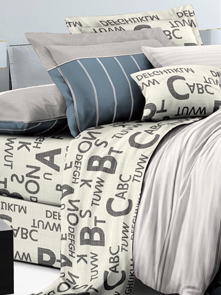 Комплект постельного белья ИМАТЕКС IM0307П-2-70х70, серый, светло-серый, светло-бежевый платок женский eleganzza цвет светло серый d34 1219 19 размер 110 х 110 см