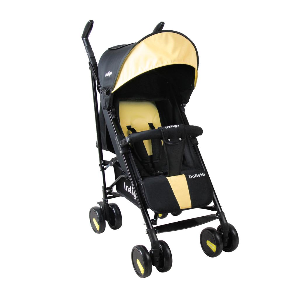 Коляска прогулочная Indigo DoReMi желтый коляска трость indigo doremi 19 салатовый ут0010174