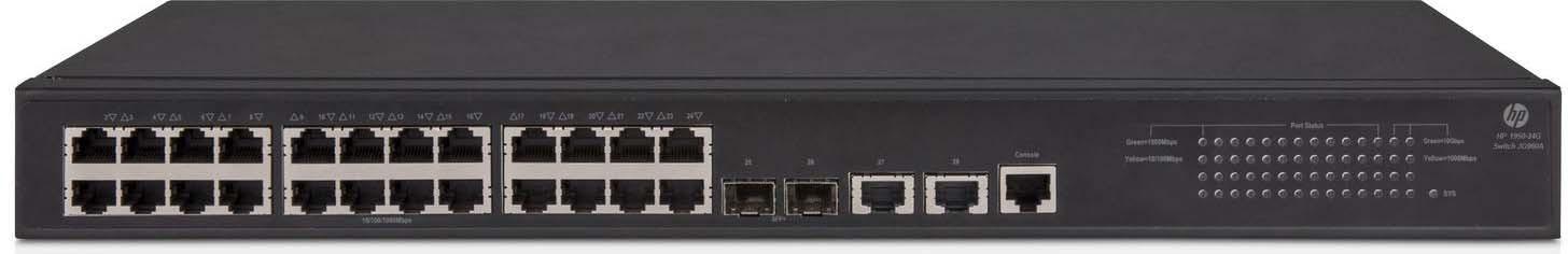 Коммутатор HPE OfficeConnect 1950 24G 2x10G 2SFP+ управляемый коммутатор hpe 1820 24g poe управляемый j9983a