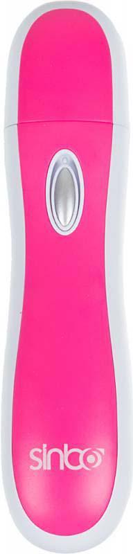 Электрическая пилка для ногтей Sinbo SS 4043, розовый, белый электрическая пилка leben 263 002