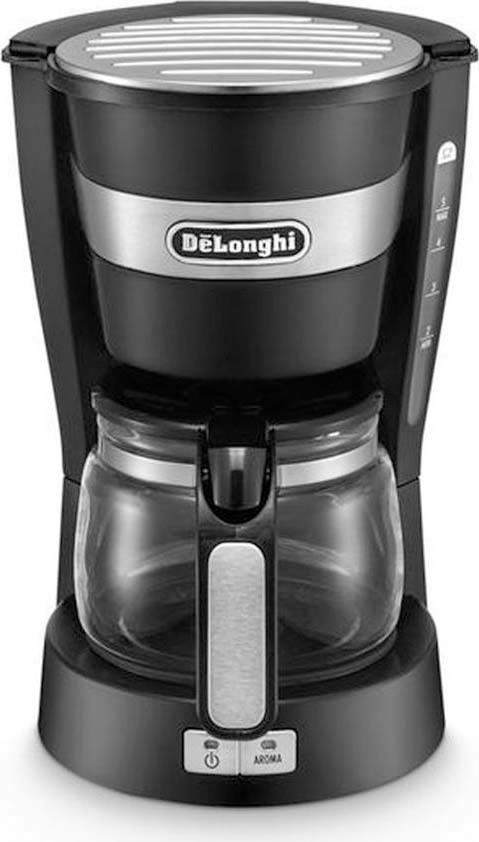 Кофеварка капельная Delonghi ICM, 132301084, черный цена