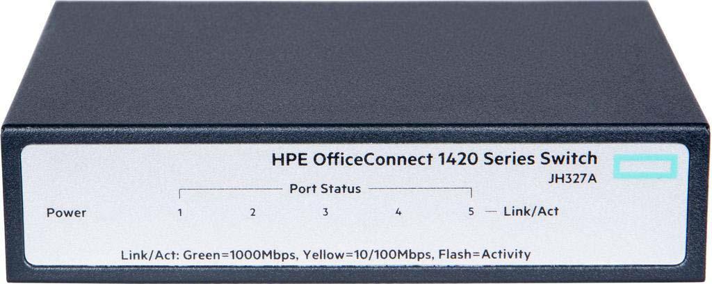 Коммутатор HPE OfficeConnect 1420 5G неуправляемый, JH327A caisy 1 1 60g in 5g