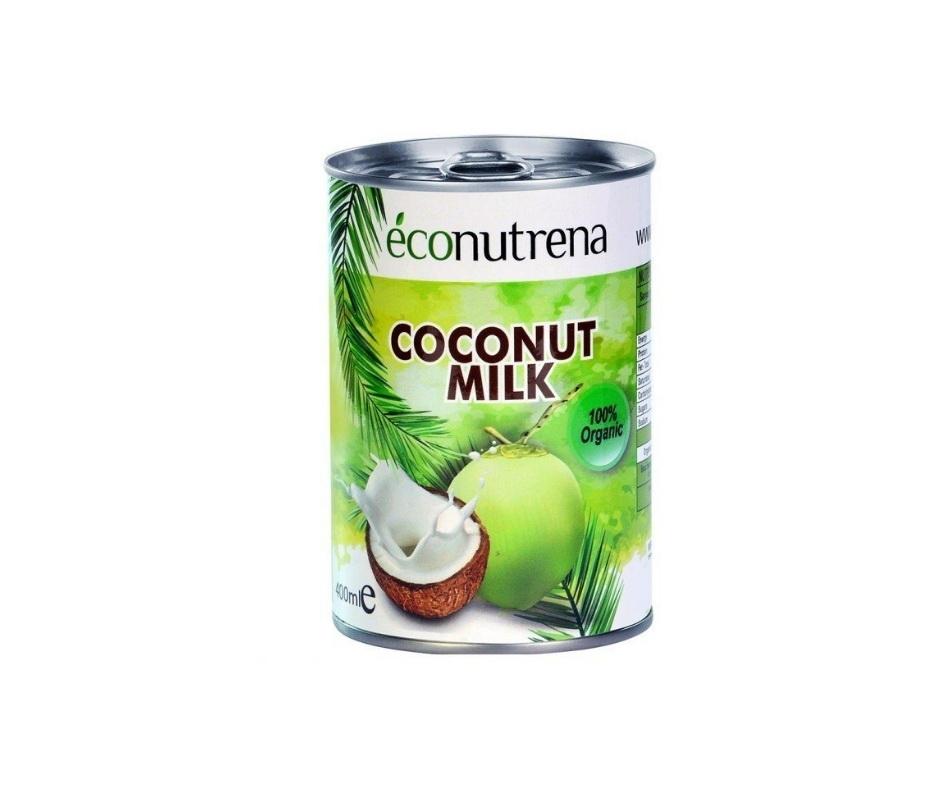 цена на Растительное молоко Econutrena KMO400 Жестяная банка, 400