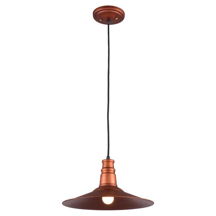 Подвесной светильник Lussole GRLSP-9697, E27, 11 Вт подвесной светильник lussole grlsp 9697 медь