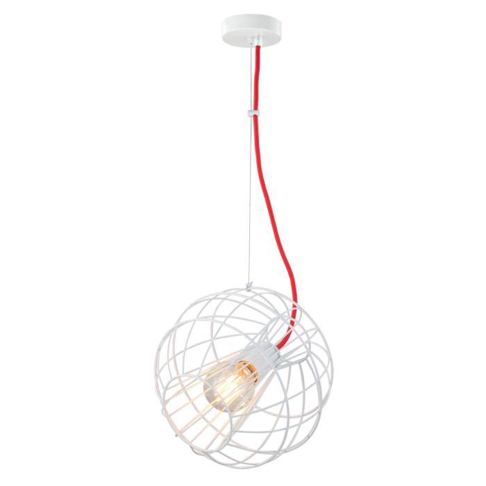 Подвесной светильник Lussole GRLSP-9932, белый стоимость
