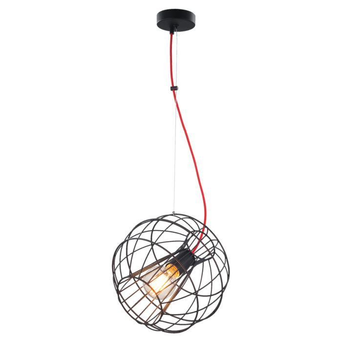 Подвесной светильник Lussole GRLSP-9933, черный стоимость