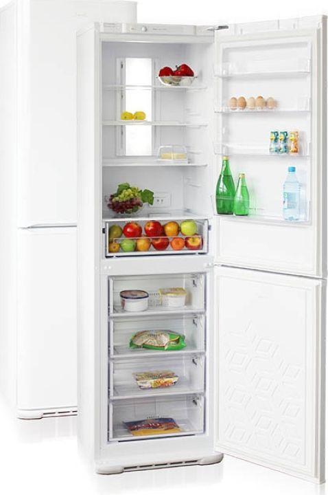 Холодильник Бирюса M380NF, цвет:  серый металлик Бирюса