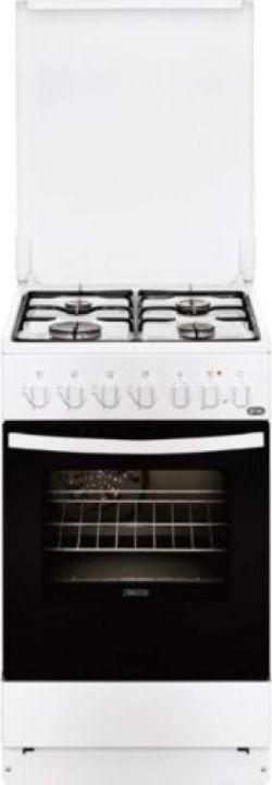 Плита комбинированная Zanussi ZCK9540G1W, белый
