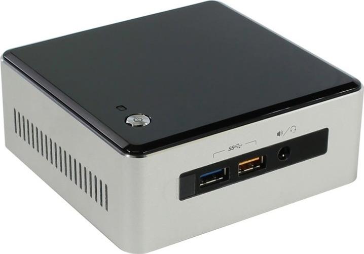 Платформа Intel NUC Original, BOXNUC5I3RYHS 983260, серый
