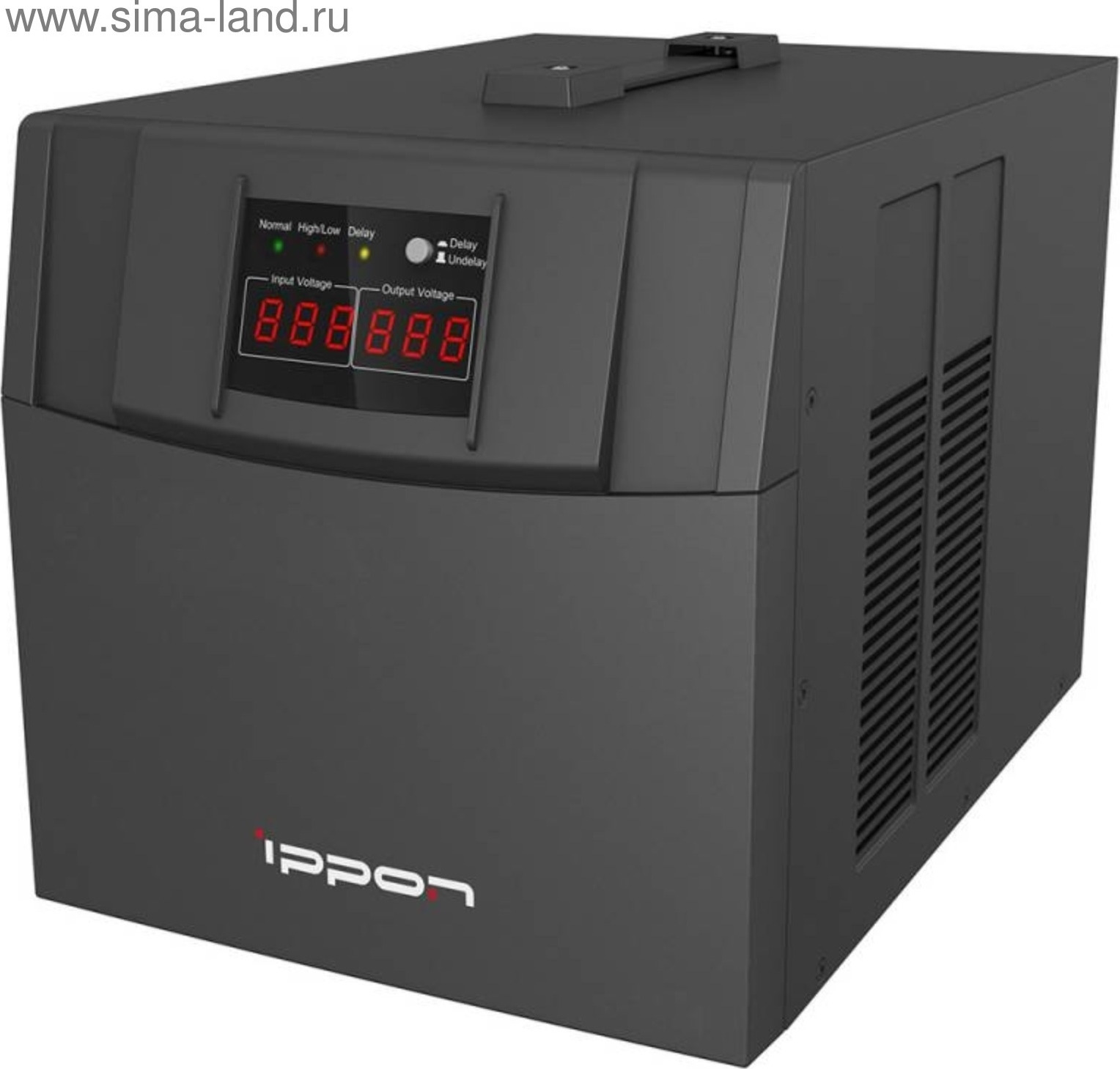 купить Стабилизатор напряжения Ippon AVR-3000 3000 Вт 3000ВА по цене 4060 рублей