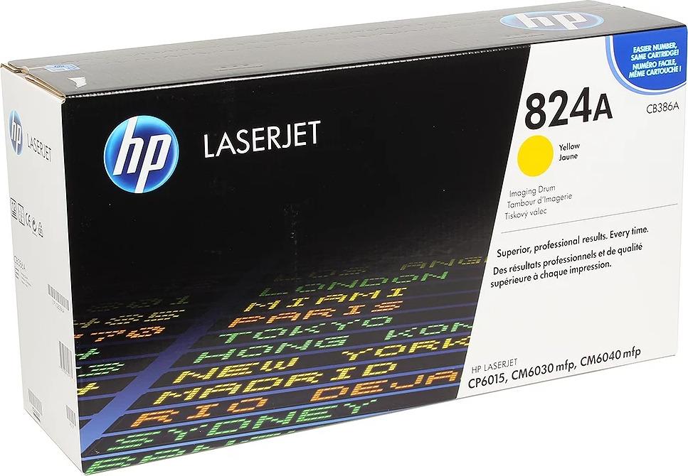 Фотобарабан HP 824A (CB386A), желтый