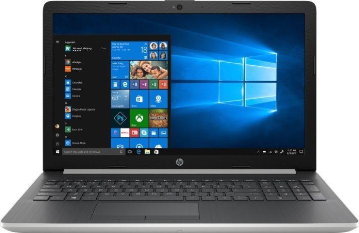 15.6 Ноутбук HP 15-db0062ur 4KG08EA, серебристый устройство веб камеры