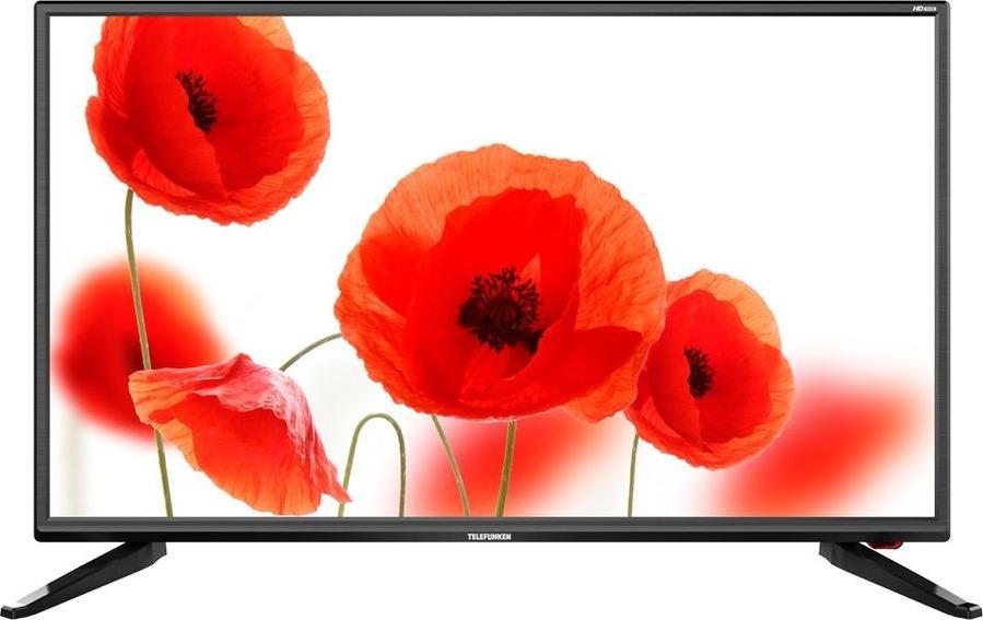 Телевизор Telefunken TF-LED32S67T2 31,5, черный телевизор 55 диагональ