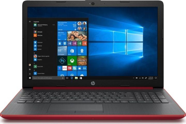 15.6 Ноутбук HP 15-da0037ur 4GL22EA, красный ноутбук цена качество