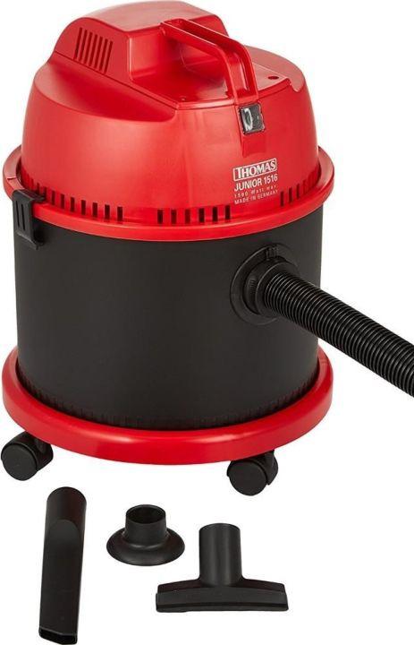 Пылесос Thomas Junior 1516, черный, красный насадка для пылесоса thomas parquet aqua stealt 787247
