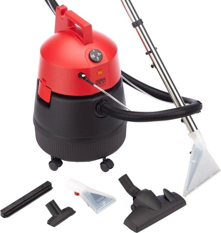 Пылесос моющий Thomas Super 30S, красный, черный
