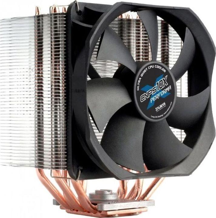 цена на Кулер Zalman CNPS10X Performa Soc-FM2+/AM2+/AM3+/1150/1151/1155/2011/ 4-pin 17-36dB Al 230W 913gr Ret