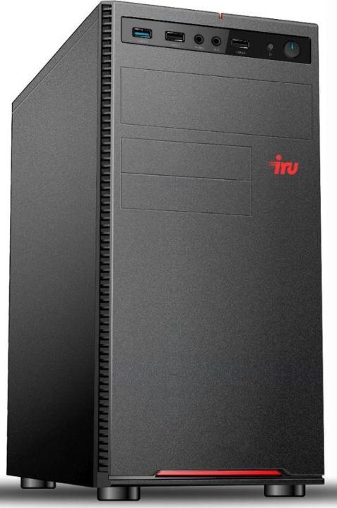 Системный блок IRU Home 313 MT, 1122604, черный системный блок iru home 313 mt 1063317 черный