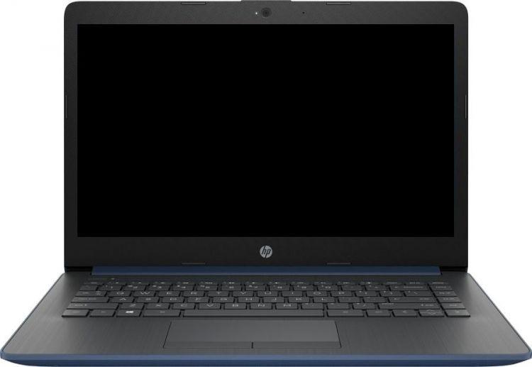Ноутбук HP 14-cm0007ur 4JY56EA, синий цены онлайн