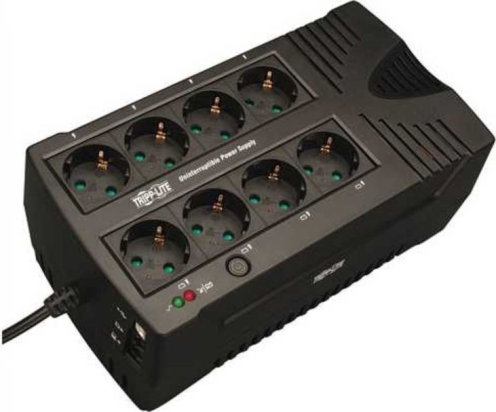 Источник бесперебойного питания Tripplite AVRX550UD 300Вт 550ВА, черный источник бесперебойного питания tripplite smartpro smx1000lcd