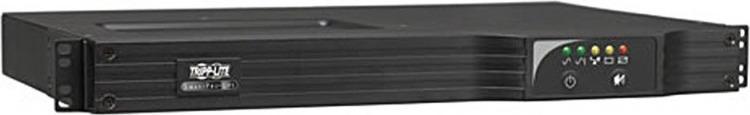 Источник бесперебойного питания Tripplite SmartPro SMX500RT1U 300Вт 500ВА,, черный источник бесперебойного питания tripplite smartonline suint2200lcd2u 2200вa