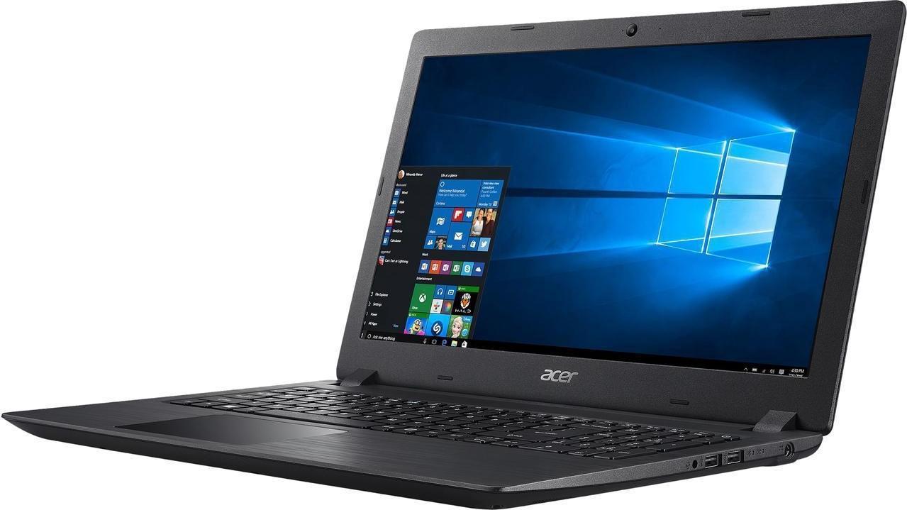 15.6 Ноутбук Acer Aspire A315-21 NX.GNVER.071, черный ноутбук wifi