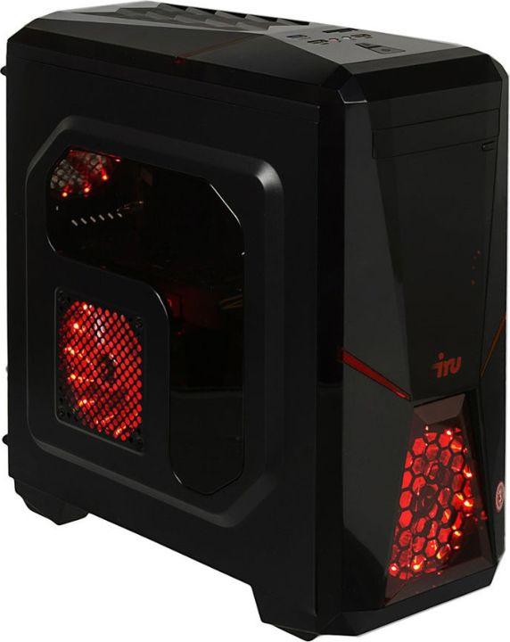 Системный блок IRU Home 315 MT, 1125306, черный системный блок iru home 315 mt 1063323 черный
