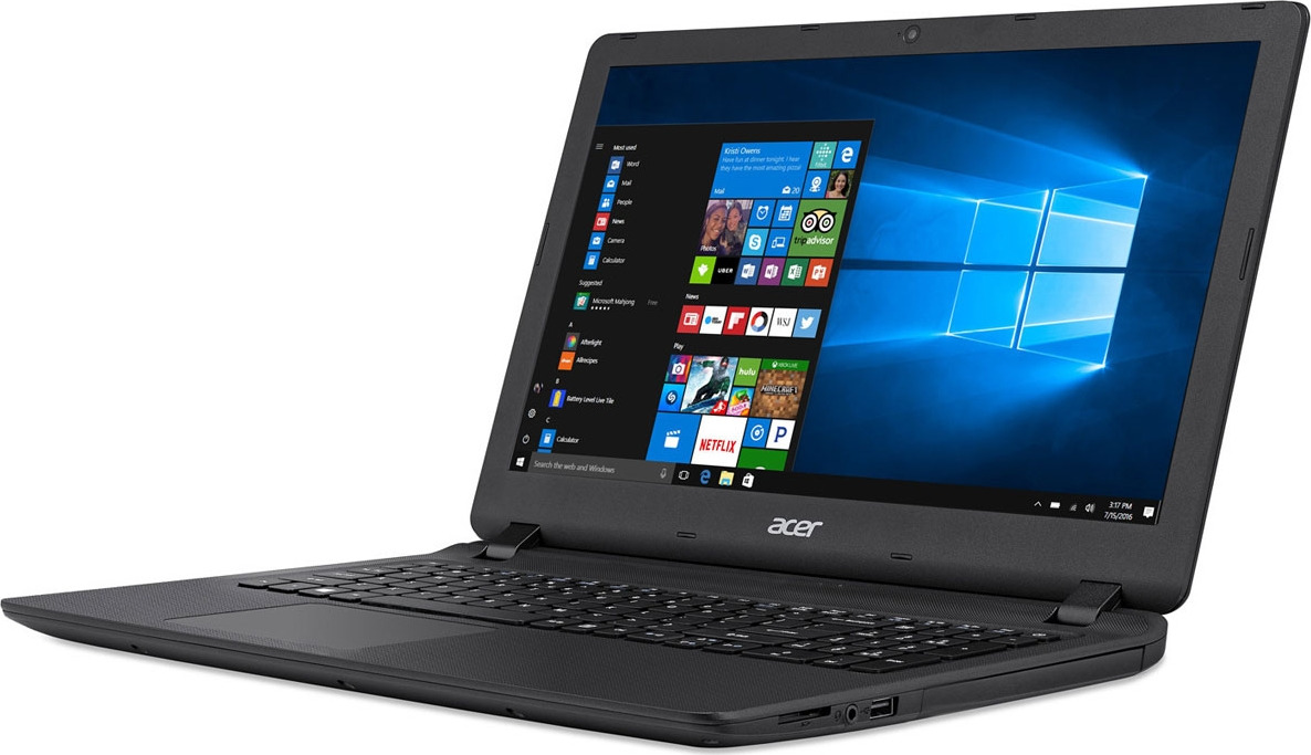 15.6 Ноутбук Acer Extensa EX2540 NX.EFHER.050 ноутбук acer extensa ex2540 55zx core i5 7200u 4gb 500gb dvd rw intel hd graphics 620 15 6 hd 1366x768 windows 10 home black wifi bt cam