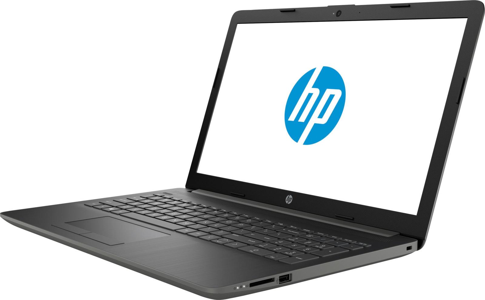 Ноутбук HP 15-db0088ur 4JU60EA, серый ноутбук hp 15 da0149ur