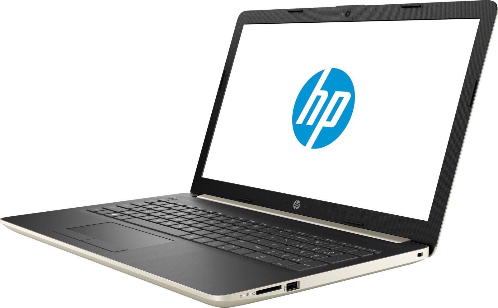 15.6 Ноутбук HP 15-db0090ur 4KA41EA, золотой 15 6 ноутбук hp 15 db0067ur 4jv07ea бордовый